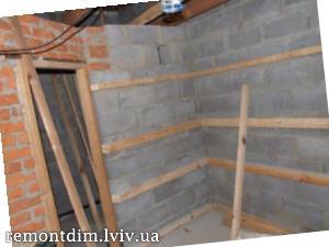Монтаж дерев'яної вагонки на стіни Львів