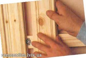 Монтаж дерев'яної вагонки на стіни