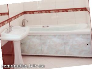 Обмуровування ванни