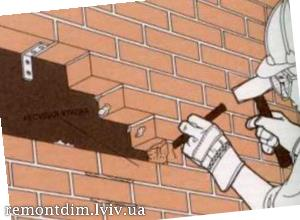 Пробивання пройомів в цегляних стінах Львів :: Ціни