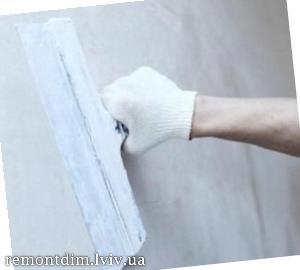 Шпаклювання стін