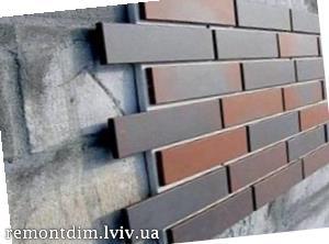 Влаштування цоколя з керамічної плитки Львів :: Ціни