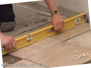 Встановлення керамічної плитки на підлогу Львів :: Ціни