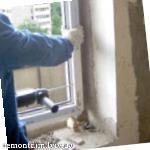 Демонтаж віконних блоків