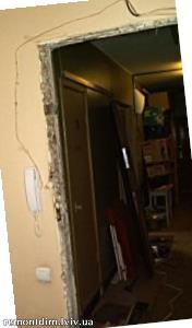 Демонтаж дверних блоків. Ціни