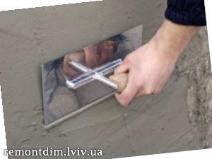 Вирівнювання поверхні під керамічну плитку