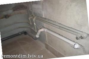 Ремонт у ванній кімнаті Львів