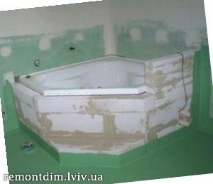Ремонт ванної кімнати у Львові