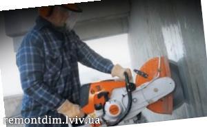Пробивання пройомів в бетонних стінах